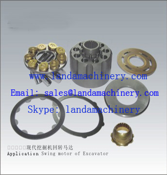 R60-7 Excavator Swing Motor spare parts rotating hydraulic component parts