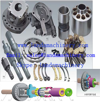 Excavator Hydraulic Pump HPV35 HPV55 HPV90 HPV160 Hydro parts component