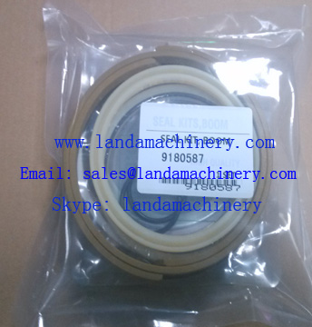 Hitachi 9181587 Hydraulic Excavator Boom Cylinder Oil Seal Kit Repair Service