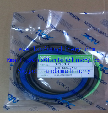 Kobelco excavator oil seal kit for SK250-6 Excavator Hydraulic Cylinder Arm
