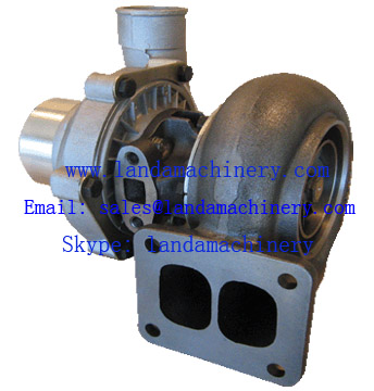 Komatsu PC200-3 Excavator S6D105 Engine Turbocharger 6137-82-8200 465044-0261 Turbo