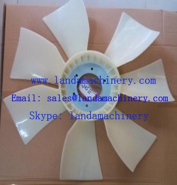 Hino J05E engine Radiator fan Blade cooling for SK200-8 SK210-8 Excavator