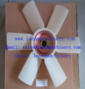 Hitachi EX100-5 Excavator 4BD1 Engine cooling Radiator fan blade