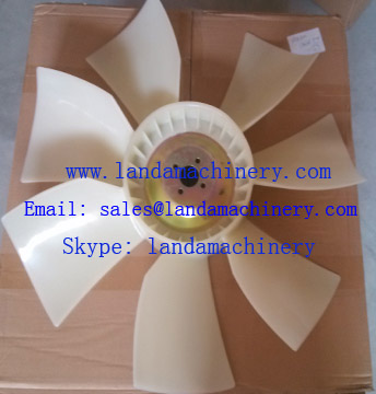 Hitachi ZX200 Excavator 6BG1 Engine Radiator cooling Fan blade