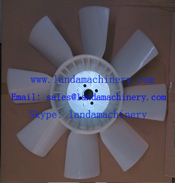 Komatsu PC60-7 600-625-7520 Excavator 4D102 engine cooling Radiator fan blade