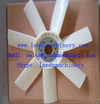 Komatsu 600-625-8540 PC100-5 Excavator 4D95 Engine cooling fan blade