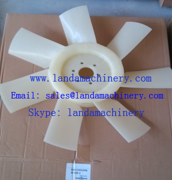 Komatsu 600-625-6580 PC200-3 600-625-6620 excavator engine fan cooling