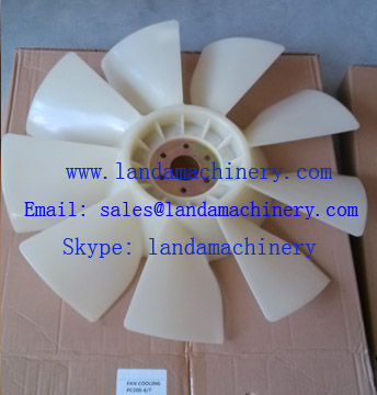 Komatsu 600-625-7620 PC200-6 PC200-7 Excavator SAA6D102E engine fan cooling