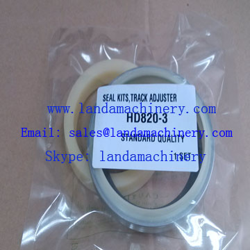 Kato HD820-3 excavator undercarriage track adjuster 707-50420200 seal kit