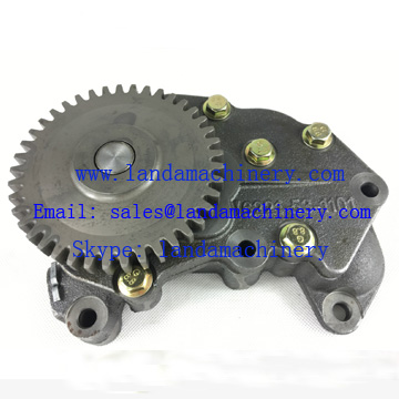 Komatsu PC300-5 Excavator parts Engine S6D108 6221-53-1101 Oil Pump