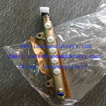 D04FR Engine Fuel Injection Common Rail for Kobelco SK130-8 Excavator