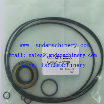 ZX200 Excavator Seal Kit Hydraulic Swing Motor Parts 0788813 0425115 0353321 0425117