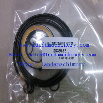 Kobelco SK330-6E Excavator Seal Kit Hydraulic Swing Motor parts Oil Seals