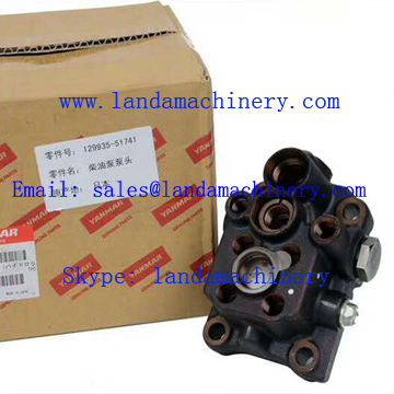 129935-51741 Yanmar Engine Fuel Pump for Excavator Motor Fuel System