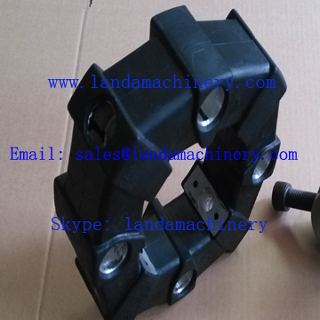 Komatsu WA150  Wheel Loader Engine Drive Rubber Damper Coupling