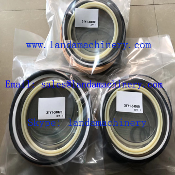Hyundai R800LC-9 Excavator Hydraulic Cylinder Seal Kit Service Parts