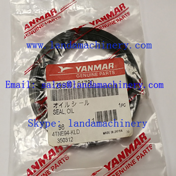 Yanmar 129900-01780 Engine Crankshaft Seal Oil YM129900-01780