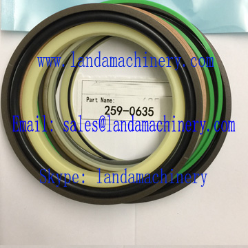 CAT 259-0635 Excavator Hydraulic Cylinder Seal Kit Oil Seals Repair Service Parts