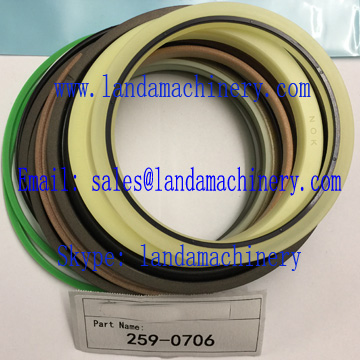 CAT 259-0706 Excavator Hydraulic Cylinder Seal Kit Oil Seals Repair Service Parts