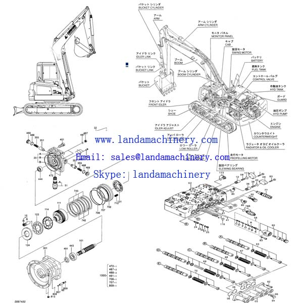 home - products - parts for hitachi excavator